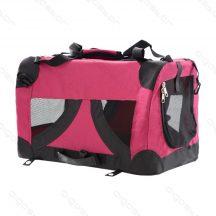 """Összehajtható kisállat hordozó táska, """"L"""" méret"""