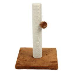Kaparófa egyszintes, juta fonalból készült oszloppal a közepén