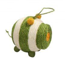 Szizállabda, egér formájú, zöld