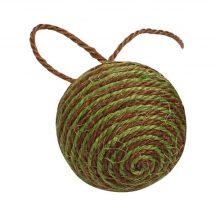 Szizállabda, zöld barna csíkos