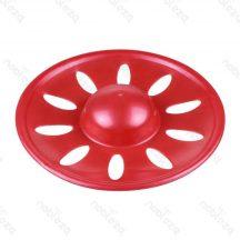 Kutyafrizbi piros színben, 23cm átmérővel