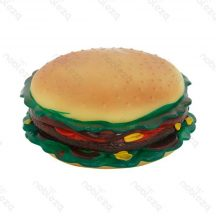 Óriás hamburger formájú sípoló játék, piros