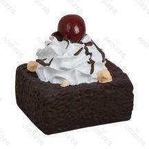 Csokis süti formájú sípoló  kutyajáték