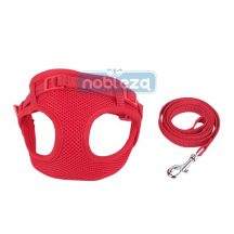 """Piros Soft hám szett """"S"""" méret 1.0x120cm 1.0cmx25-40cm"""
