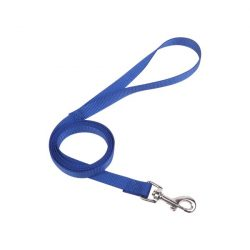 Kék színű textilpóráz választható színekben 1.0cmx120cm