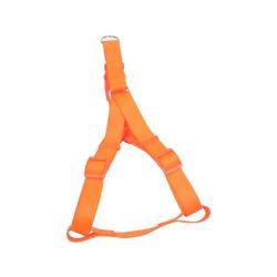 """Narancssárga kutyahám egyszínű textil """"XS"""" méret, 1cm x 25-40cm"""