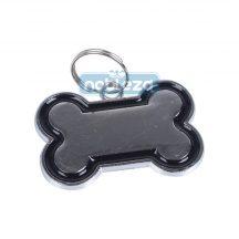 Fekete Kutyacsont ékszer, 3cm