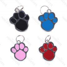 Biléta kutyáknak, cicáknak tappancs formában, D 2.6cm, 24db/csomag