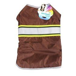 Vízlepergető kabát barna 20cm háthossz
