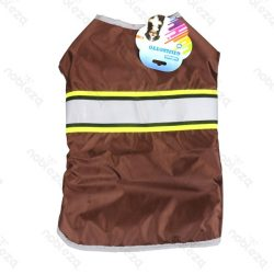 Vízlepergető kabát barna 25cm háthossz