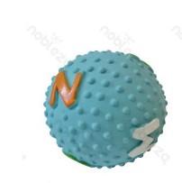 Latex rücskös labda, kék, D7.6 cm