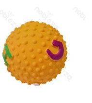 Latex rücskös labda,sárga, D7.6 cm