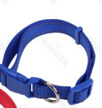 Kék Fényvisszaverős nyakörv, 1.5cmx25-40cm