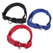 Kék Fényvisszaverő textilnyakörv egyedi színekben 2.0cmx30-50cm