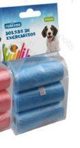 6db-os kutyapiszok felszedő zacskó, kék színű, 0,008mm