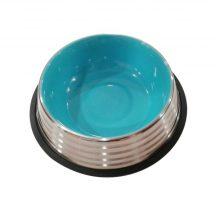 Stainless Steel tál, kék belső, 1dl űrtartalom