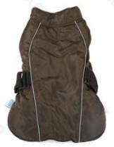 Túra kabát pamut béléssel állítható Army Green 30cm háthossz