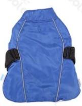 Túra kabát pamut béléssel állítható Kék 35cm háthossz