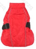 Túra kabát pamut béléssel állítható Piros 30cm háthossz