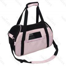 Kutyaszállító táska rózsaszín 43x23x29 cm
