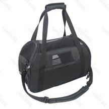 Kutyaszállító táska fekete 48x25x33cm