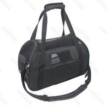 Kutyaszállító táska, fekete 48x25x33 cm