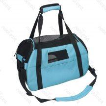Kutyaszállító táska, kék 48x25x33 cm