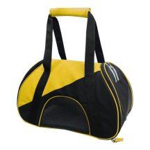 Kutyaszállító táska, sárga-fekete 47x24x28 cm