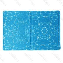 Keep Cool hűtőmatrac mintákkal, M méret, 50cm x 60cm