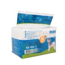 Fenékre húzható hagyományos kutyapelenka, XS méret, 12db/csomag