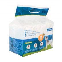 Fenékre húzható hagyományos kutyapelenka, M méret, 12db/csomag