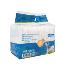 Fenékre húzható hagyományos kutyapelenka, L méret, 12db/csoma
