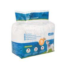 Fenékre húzható hagyományos kutyapelenka, XL méret, 12db/csomag