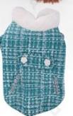 Kutyakabát, kék, 35 cm háthossz