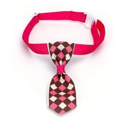 Piros alpon kockás kutyanyekkendő