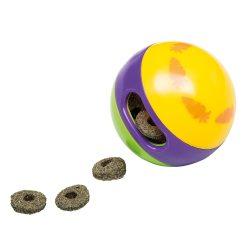 Játékos nyúltáp adagoló, kerek színes