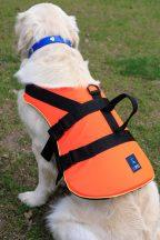 Navyline mentőmellény kutyáknak, 40+  kg súly, narancssárga színben